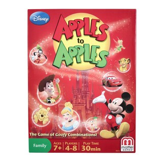 Disney Apples to Apples - The Game of Goofy Comparisons!