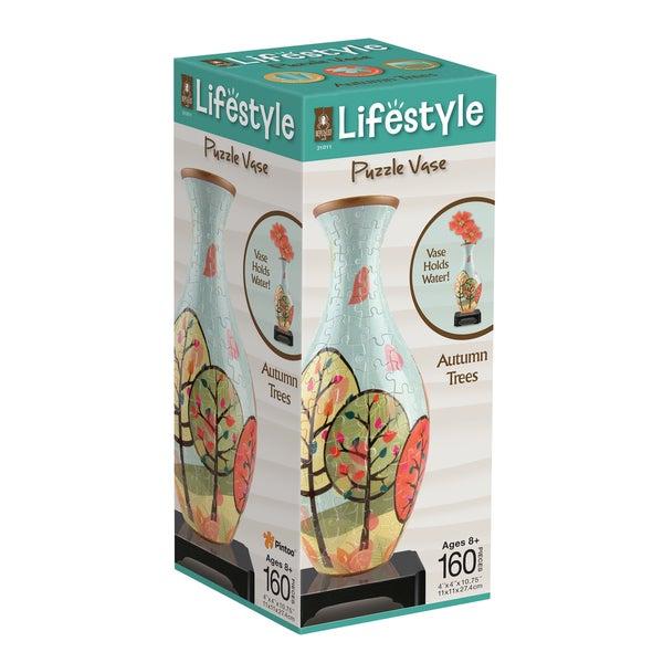 Lifestyle 3D Puzzle Vase - Autumn Trees: 160 Pcs