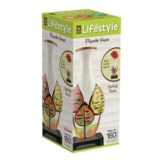 Lifestyle 3D Puzzle Vase - Spring Trees: 160 Pcs