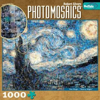 Photomosaics Jigsaw Puzzle - Starry Night: 1000 Pcs