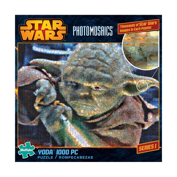 Star Wars Photomosaics - Yoda: 1000 Pcs
