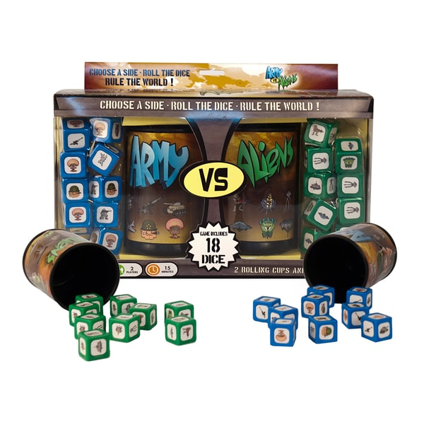 AVA Challenger Series - Set #1: Army vs. Aliens Dice Game
