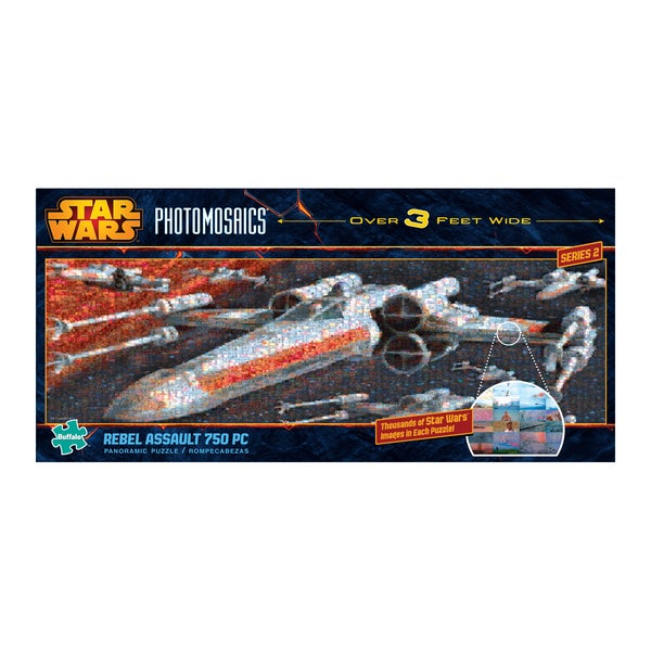 Star Wars Panoramic Photomosaics - Rebel Assault: 750 Pcs