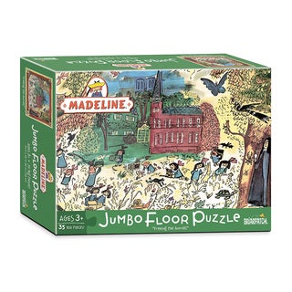 "Madeline - ""Freeing the Animals"" Jumbo Floor Puzzle: 35 Pcs"
