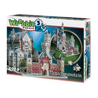 Neuschwanstein Castle 3D Puzzle: 890 Pcs