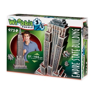 Empire State Building 3D Puzzle: 975 Pcs