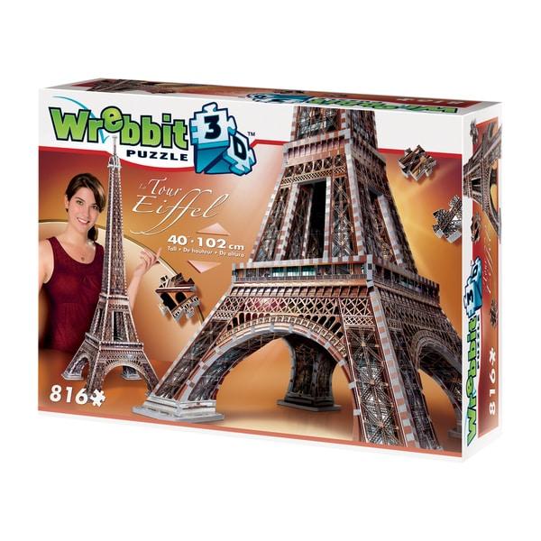 Eiffel Tower 3D Puzzle: 816 Pcs