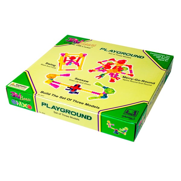 Jawbones Playground Boxed Set: 150 Pcs