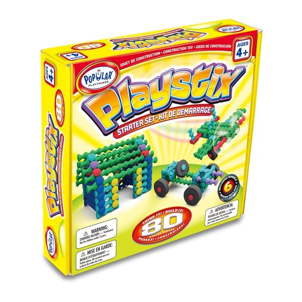 Playstix Starter Set: 80 Pcs