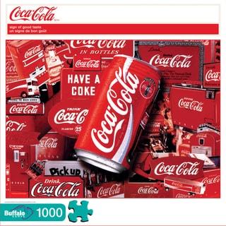 Coca Cola Sign of Good Taste Puzzle: 1000 Pcs