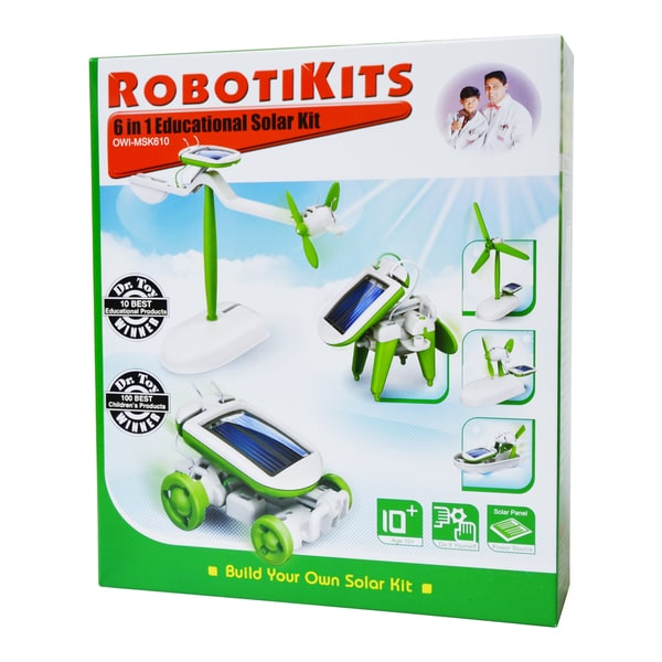 OWI Robotikits - 6-in-1 Educational Solar Kit