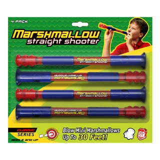 Marshmallow Classic Straight Shooter 4-pack