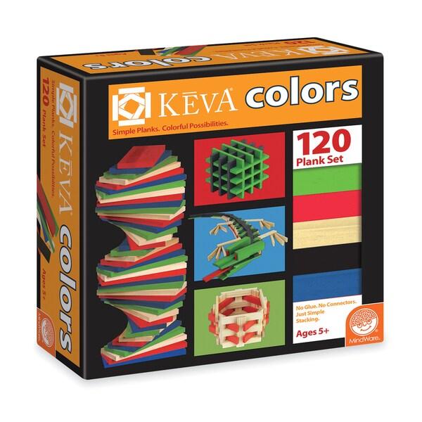 KEVA Colors - 120 Plank Set