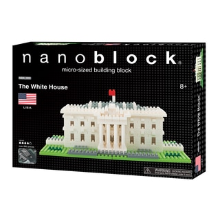 nanoblock Sites to See Level 4 - The White House: 890 Pcs