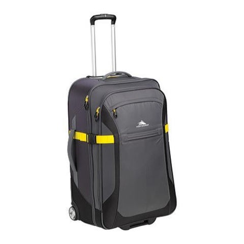 High Sierra Grey/Mercury/Black/Sunflower 30-inch Wheeled Upright Suitcase