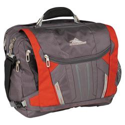 High Sierra TSA Messenger Charcoal/Lava/Silver/Black
