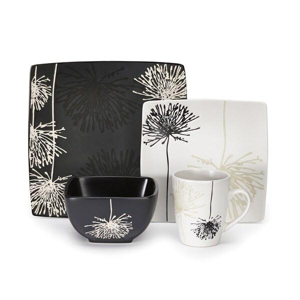 Marianne Collection Stoneware 16 Piece Dinnerware Set