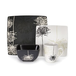 Marianne Collection Stoneware 16-Piece Dinnerware Set