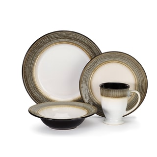 Loire Collection Stoneware 16-Piece Dinnerware Set