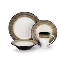 Loire Collection Stoneware 16-Piece Dinnerware Set