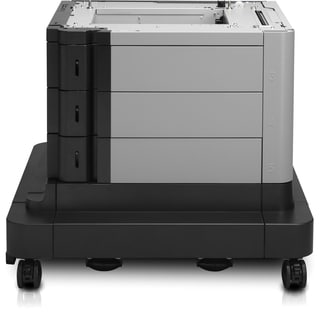 HP LaserJet 2x500/1500-Sheet High-Capacity Input Feeder with Stand