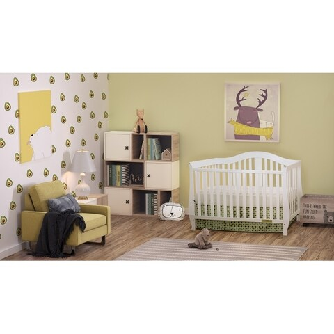 Mikaila Noble 4-in-1 Convertible Crib