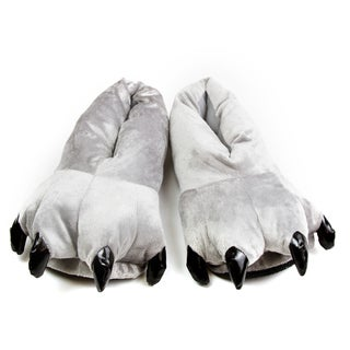 Leisureland Animal Bear Paw Slippers