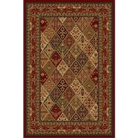 Cosmic Red Area Rug - 4' x 6'