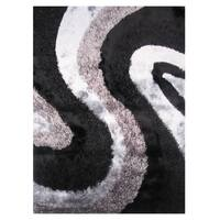 Dream Grey Polyester Rug