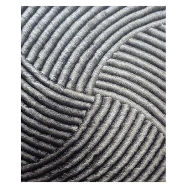 Dimension Grey Polyester Rug