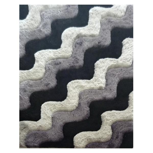 Dimension Grey Polyester Rug - 5' x 7'3