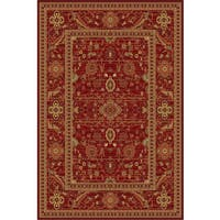 Ziggy Red Area Rug