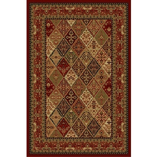 Cosmic Red Area Rug (5' x 8')