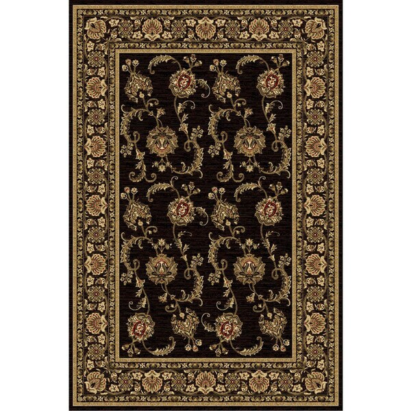Ziggy Black Area Rug (8' x 11')