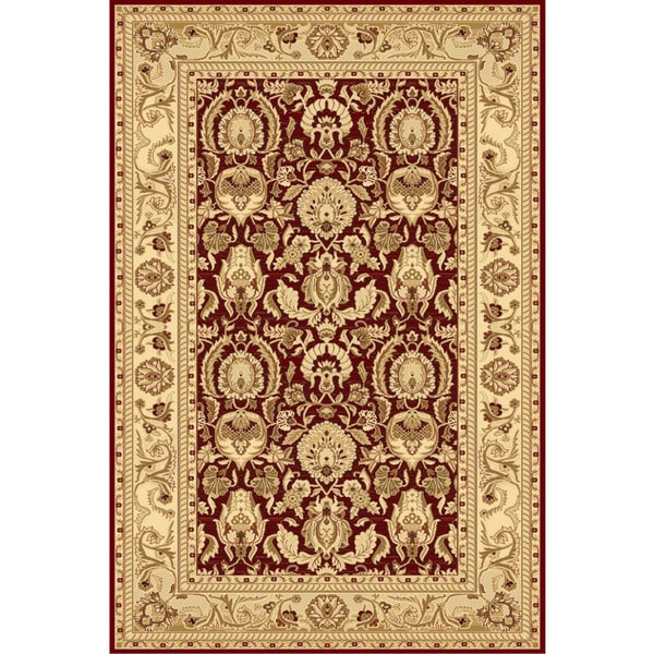 Ziggy Red Area Rug - 5' x 8'