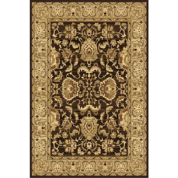 Ziggy Brown Area Rug - 5' x 8'