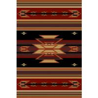 Cosmic Red Area Rug - 5' x 8'