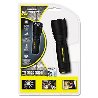 Rayovac LED Black Aluminum Flashlight