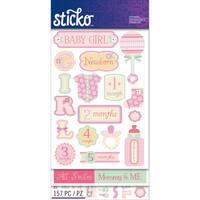 Sticko Flip Pack-Baby Girl