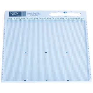 "Scor-Pal Eights Measuring & Scoring Board 12""X12""-.125"" Space Grooves"