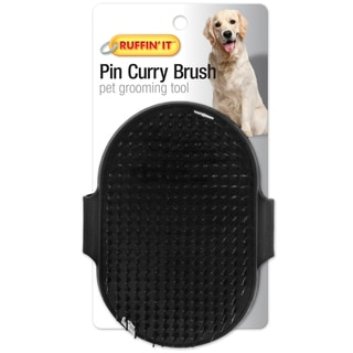 Palm Pin Curry Brush For Dogs & Cats
