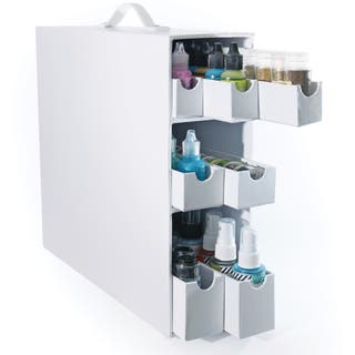Totally-Tiffany Stash And Store Sparkle & Sprinkle Case-White|https://ak1.ostkcdn.com/images/products/9656190/P16838895.jpg?impolicy=medium