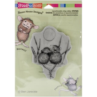 """Stampendous House Mouse Cling Rubber Stamp 4.5""""x5.5"""" Sheet-Tails Entwined"""