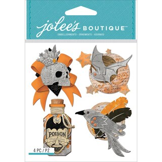 Jolee's Boutique Dimensional Stickers-Vintage Metallic Charms