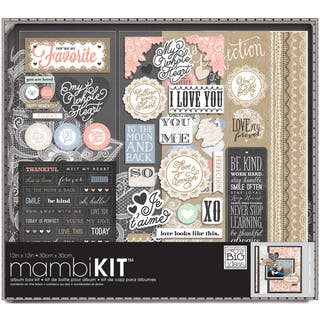 "Me & My Big Ideas Boxed Album Kit 12""X12""-Lacey Charm