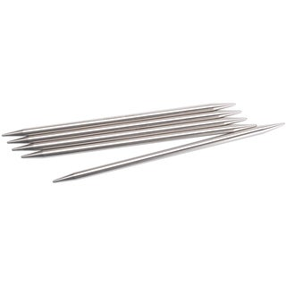 "Double Point Stainless Steel Knitting Needles 6""-Size 2.5/3mm"
