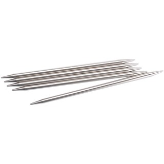 "Red Circular Knitting Needles 9""-Size 2.5/3mm"
