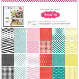 "Pink Paislee Paper Pad 12""X12"" 180/Pkg-Best Of Pink Paislee"