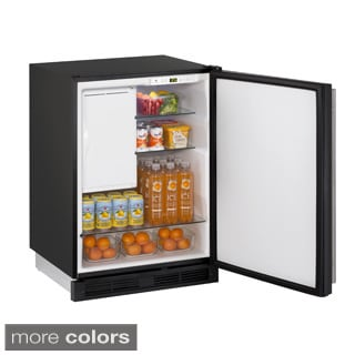 U-Line 1000 Series 1224 24-inch Stainless Steel Refrigerator/ Ice Maker Combo