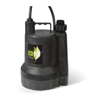 ECO-FLO SUP54 0.166 HP Manual Thermoplastic Submersible Utility Pump|https://ak1.ostkcdn.com/images/products/9657755/P16839987.jpg?impolicy=medium